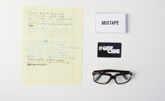 RUN-D.M.C style frames by Ivory & Mason from Q-Tip Quarterly Box