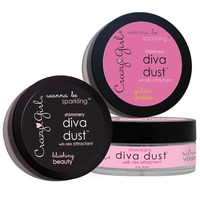 Wanna Be Sparkling Shimmery Diva Dust in Silver Vixen