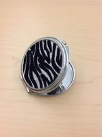 Jesse's Girl Zebra Mirror Compact