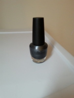 My beauty spot nail polish metallic grey