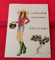 """""""I am like a fine wine..."""" Print or Postcard"""