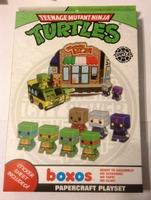Boxos TMNT Papercraft Playset
