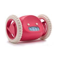 Clocky Pink Rolling Alarm Clock