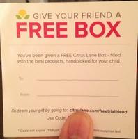Free Box - citrus lane