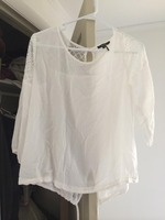 Roly Poly top with lace detail