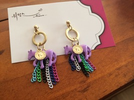 Nuance Pony Coin Treasure Earrings