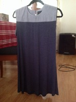 Priddy by Puella charcoal and blue dress