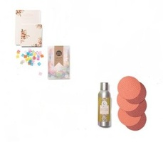 Birchbox Limited Edition Fall Fete Box - Assortment of Four Items - Confetti, Room Spray, Coasters, Place Cards - $36 value