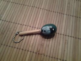 Handmade Puerto Rican Key Chain