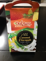 Dulzura Coconut Pineapple candy bites