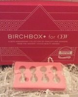 Toe Separators for pedicures in pink from  2014 Birchbox for CEW (Cosmetic Executive Women) 20 year Anniversary choice for prestige cosmetics limited edition box