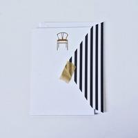 Dodeline Gold Foil Notecard