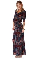 Puella La Boheme maxi dress tile