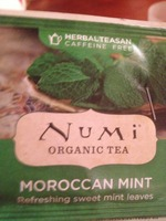 Numi Organic Tea in Moroccan Mint