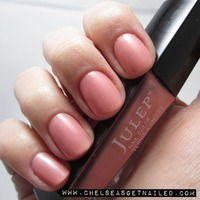 "Julep LYNN ""American Beauty"" a blush/nude color with a bit of shimmer from Oprah's 2012 Holiday Favs box (retail $14.00)"