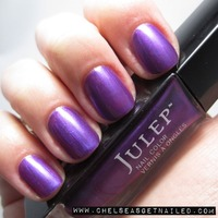 """Julep MORGAN from Oprah's FAV box from holiday 2012, & from the """"Bombshell"""" collection w/a sheer/frost/pearl finish still on the Julep site w/retail for non-mavens $14.00 & mavens $11.20"""