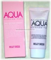 Milky Dress Aqua Sleeping Pack