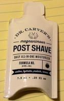 Dr. Carver's Post Shave