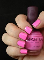 """SpaRitual MAGNIFY """"pink crème"""" nail polish from the """"Explore Color Collection"""" in full size of 0.5 fl OZ w/retail of $12.00 from the August 2014 Glossybox"""
