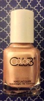 "Color Club mini nail polish (.25 fl OZ) in Gold Struck ""an understated, soft gold... subtle enough for daytime wear"" (from tEXCLUSIVE BIRCHBOX Gala's Gems Collection set 4/$13.00—making this bottle value is $3.25) From April 2014 box"