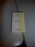 Salamandra Naturals Organic Natural Handmade Soap - Tea Tree Peppermint