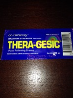 Thera-gesic pain relieving creme