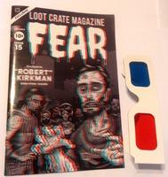 Loot Crate 3D Magazine Fear & 3D Glasses