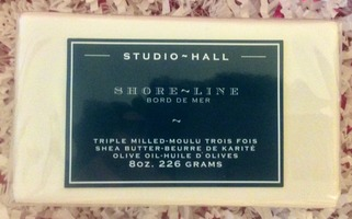 K. Hall Designs Shoreline Shea Butter/Olive Oil Bar Soap w/$10.00 retail & 8 OZ weight (keep in mind shipping cost) from 2014 POPSUGAR MUST HAVE box