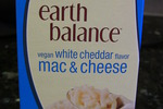 Earth Balance vegan white cheddar mac and cheese