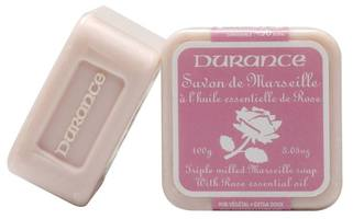 Durance Savon de Maeseille Triple Milled Soap with Rose Essential Oil