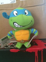 TMNTLeonardo plush clip-on