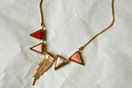 All the Rage Triangle Necklace