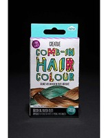Creative Comb-In Hair Colour in Green