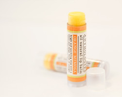 Live Beautifully All Natural Lip Balm in Orange Mimosa