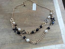 Carol Dauplaise Two Row Necklace