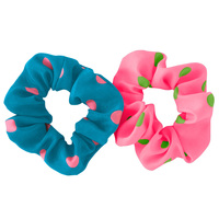 Polka Dot Scrunchies 2-pack
