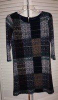 Jella Couture Patchwork Knit Dress