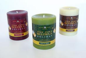 Bluecorn Naturals Honey Vanilla Candle