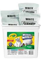One 8 oz package Crayola Model Magic (white)