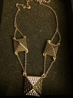 Jewelmint Pyramid Necklace