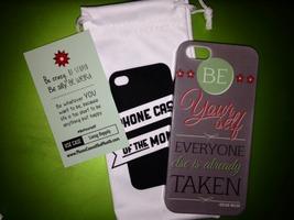 Iphone 5 Be Yourself Oscar Wilde phone case