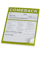 Knock Knock Comeback Pad
