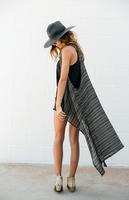 Striped Sleeveless Vest