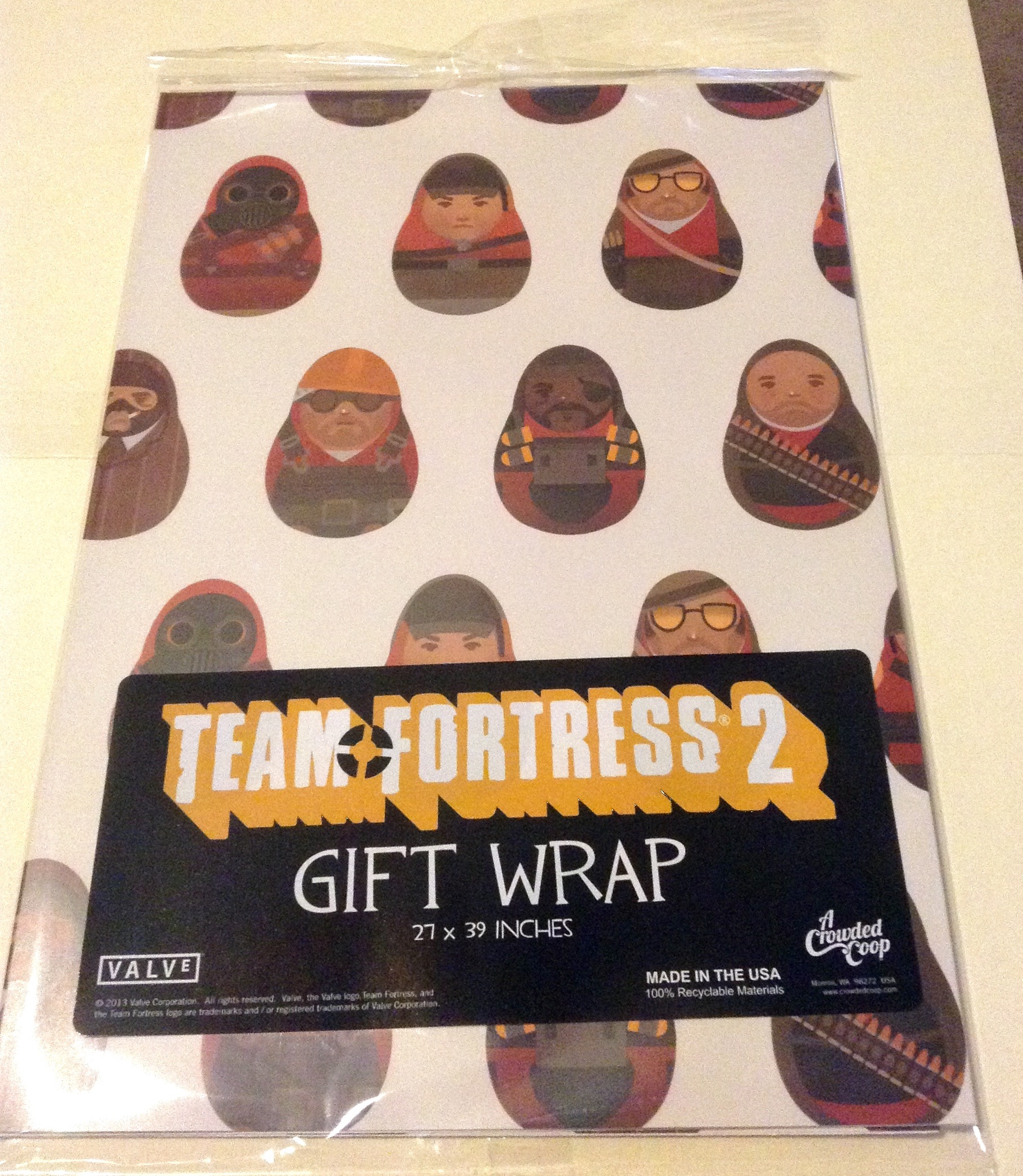 Team Fortress 2 Gift Wrap