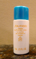 Shiseido ultimate sun protection lotion