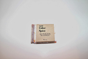 "Somerville Soap Works ""Cider Spice"" Pure Castile Soap"