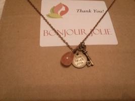 Copper Stone Necklace