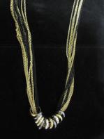 Hillary multi-metal necklace