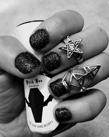 Black Box Nail Polish (Black)