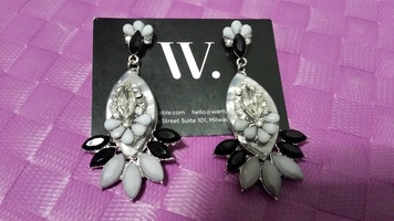 Khloe Earrings Silver